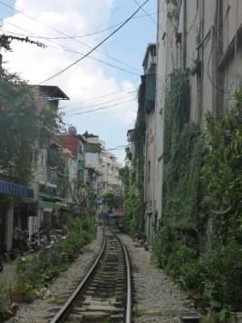Hanoi's famous Railway Street