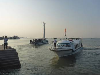 Our ferry to Cat Ba island